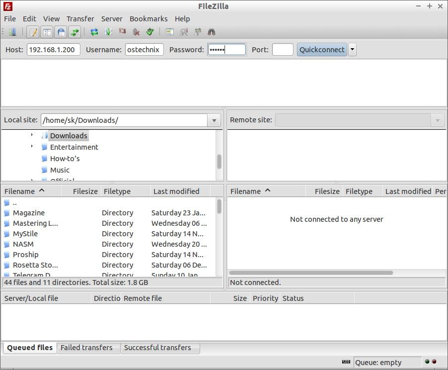Install Vsftpd For CentOS, Fedora and RHEL