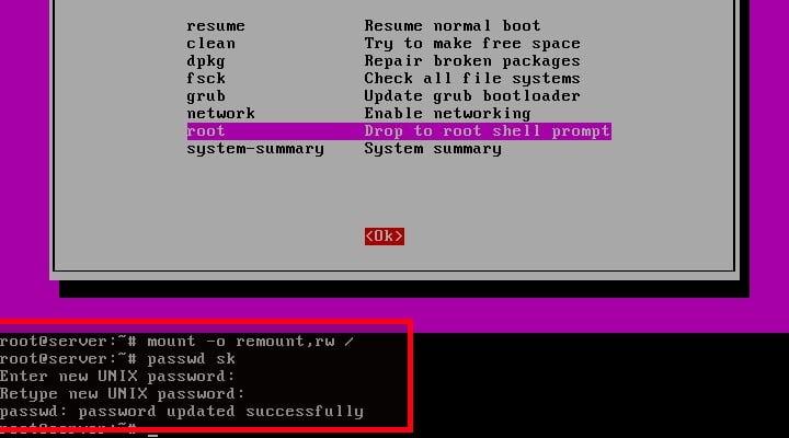 How To Reset Root User Password In Linux - OSTechNix