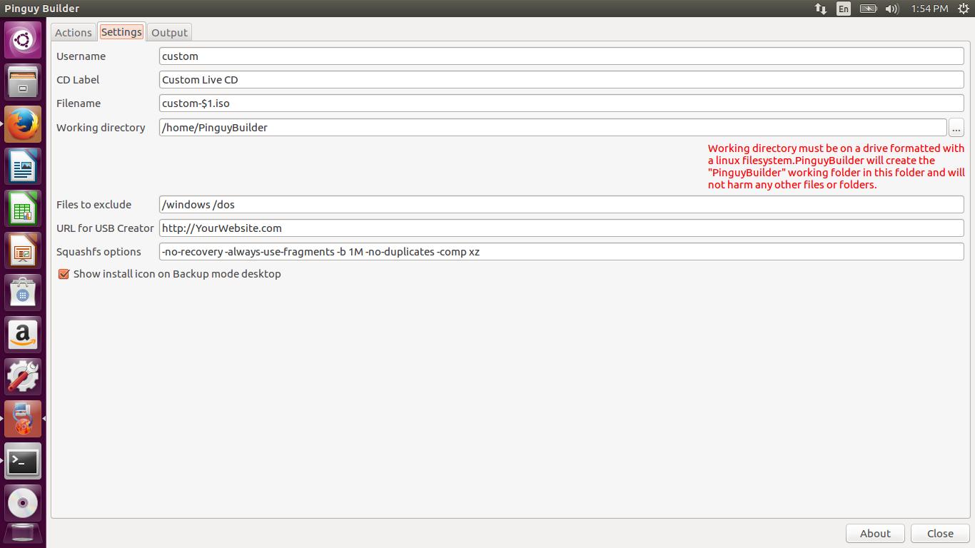 LINUX All in One HelpDesk: [Quick Tips - Custom Ubuntu