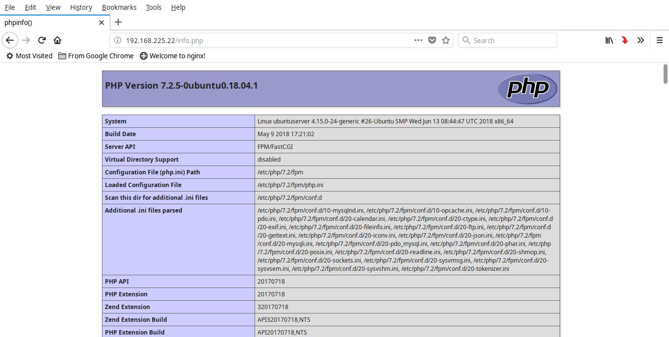 Install Nginx, MariaDB, PHP (LEMP Stack) in Ubuntu 18 04 LTS Server