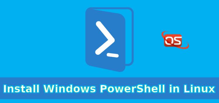 install windows powershell