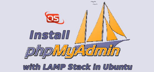 install phpmyadmin with lamp