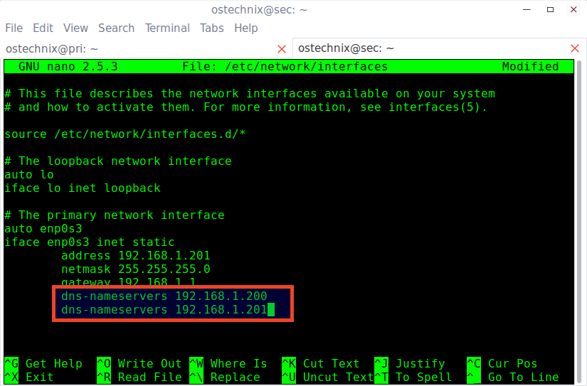 server dns address could not be found ubuntu