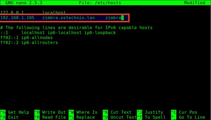 Install Zimbra Collaboration Suite 8 7 in Ubuntu 14 04 LTS - OSTechNix