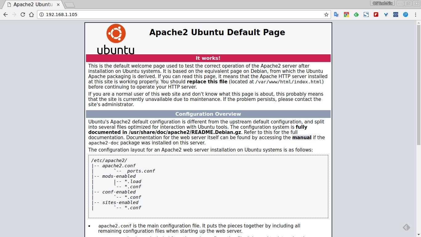 Виртуальный web-серверы ubuntu как сделать сайт проиндексирован