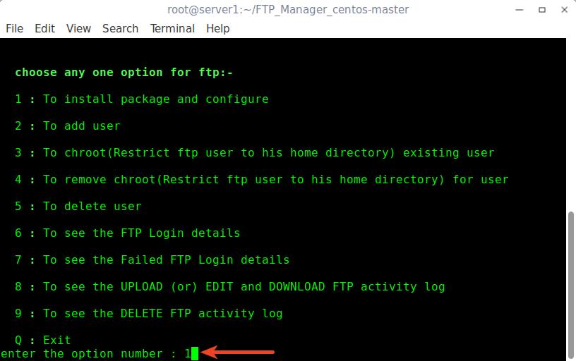 ftp upload resume linux