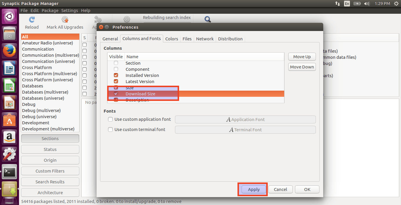 How To Find Installed Applications With Installed Size In Linux