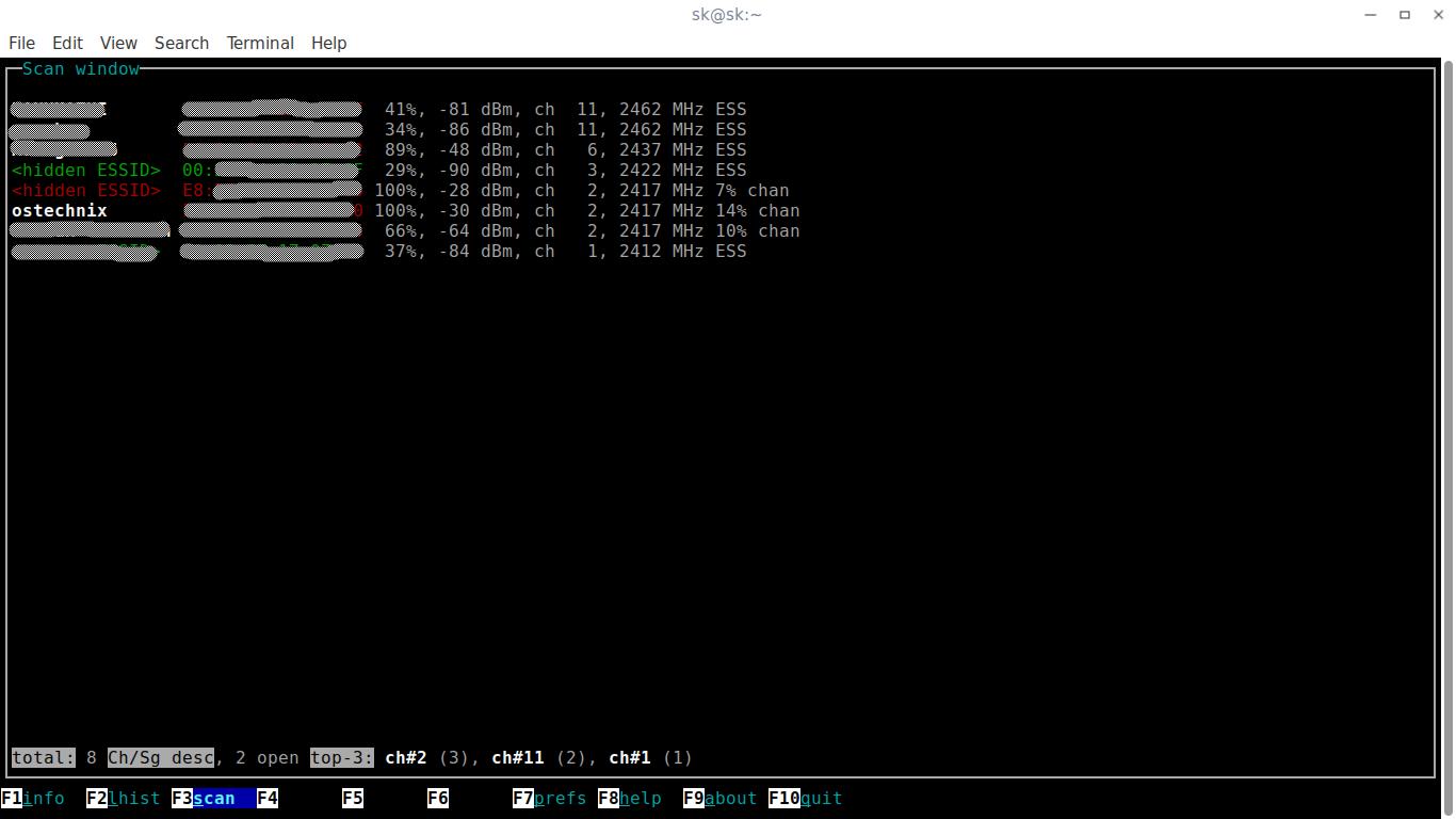 scientific linux software list