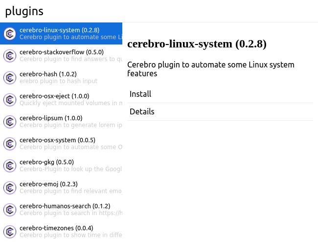 Cerebro App - An Open Source Equivalent To Mac OS X
