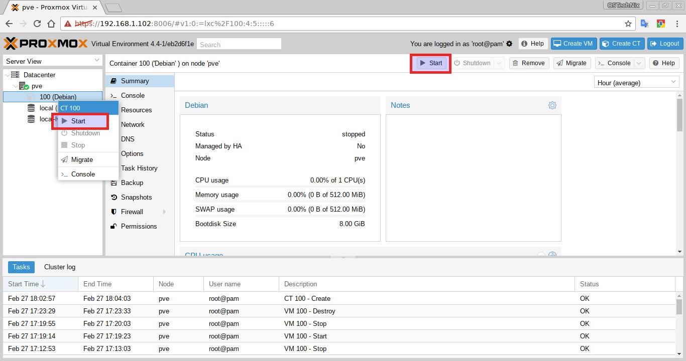 Setup Server Virtualization Environment Using Proxmox VE