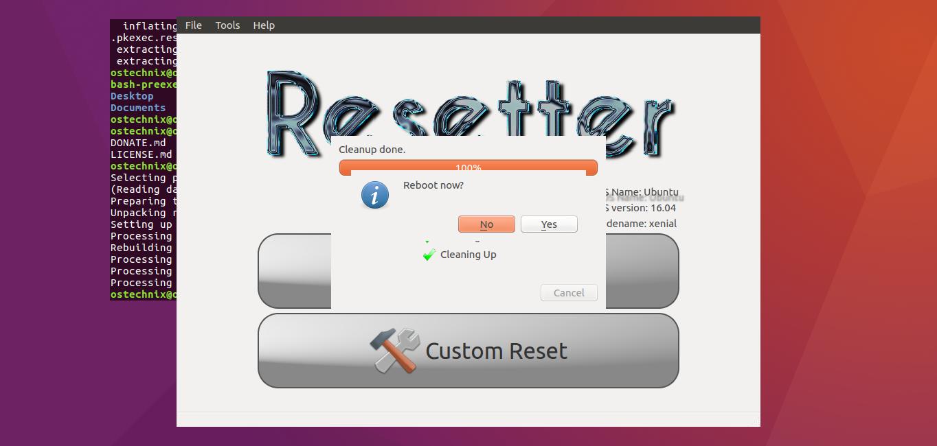 Finally, Reboot Your Ubuntu System