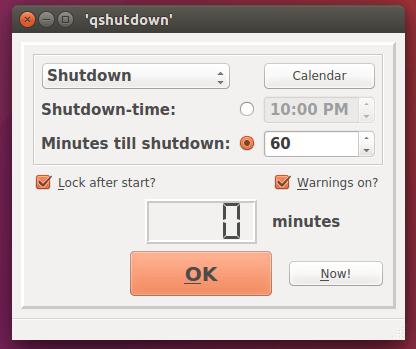 Auto Shutdown, Reboot, Suspend, Hibernate Your Linux System