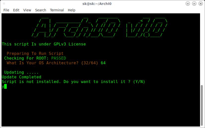 ArchI0 – Instalación automática de aplicaciones en ArchLinux