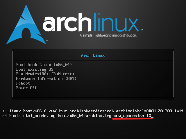 How To Adjust The Size Of The Root Partition On Live Arch Linux