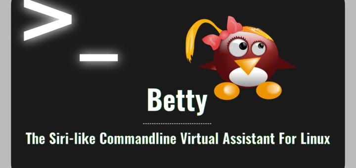 Betty – La Siri para GNU/Linux en terminal