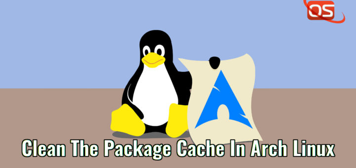 La forma recomendada de limpiar la caché de paquetes en Arch Linux