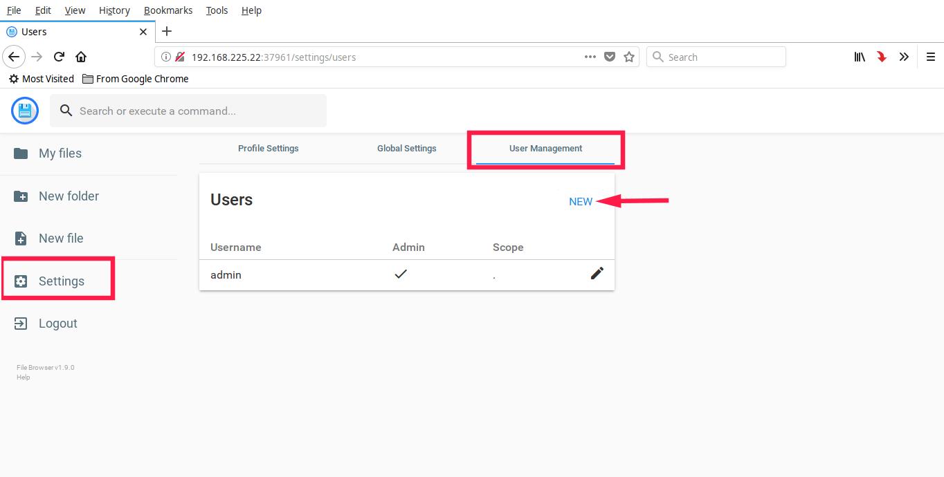 File Browser - A Cross-platform Stylish Web File Manager