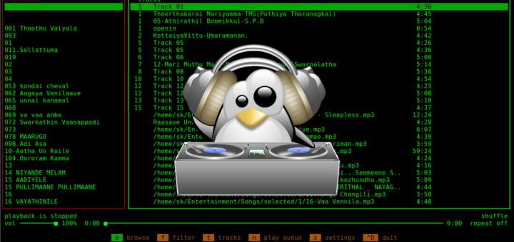 Musikcube – Un reproductor de música de la línea de comandos