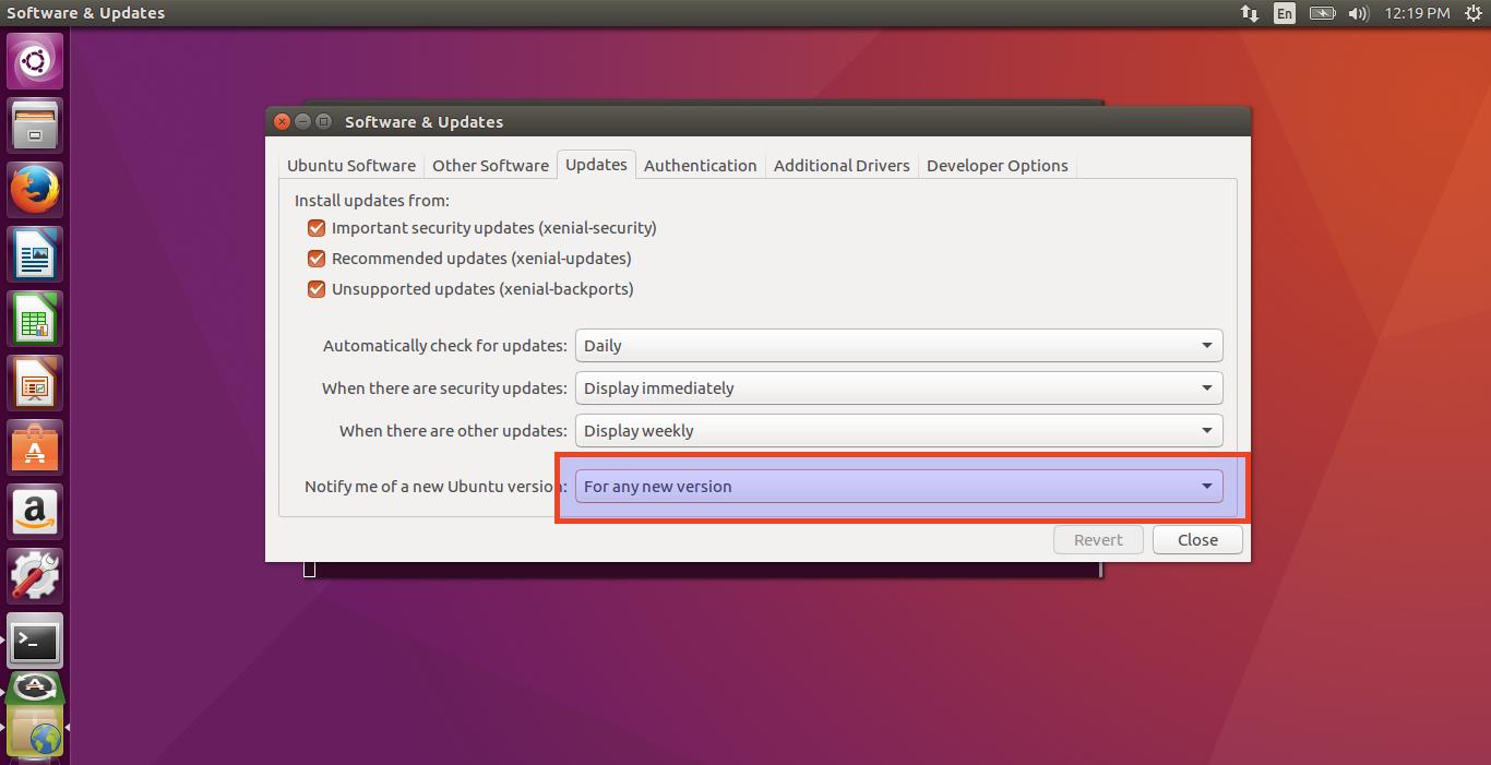 Ubuntu 16.10 LTS 1