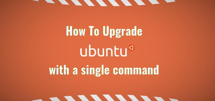 Cómo actualizar Ubuntu con un solo comando