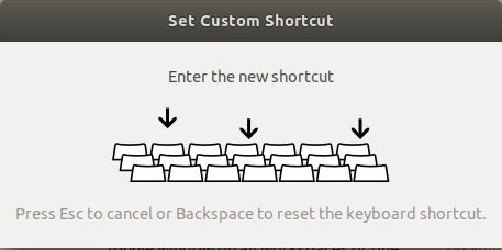 set shortcut key 2