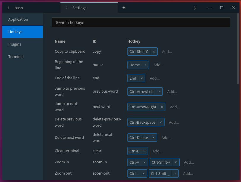 Terminus - A Web Technology Based Modern Terminal - OSTechNix