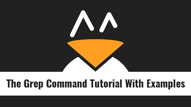 The Grep Command Tutorial With Examples For Beginners