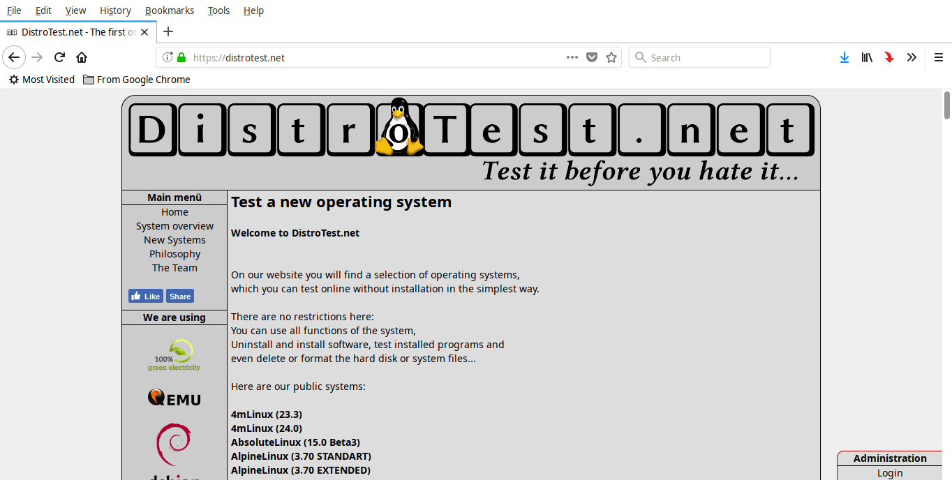 Test 200+ Linux And Unix Operating Systems Online For Free