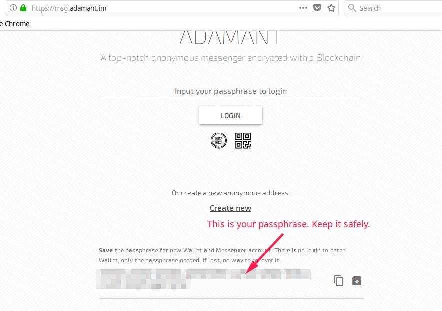 ADAMANT Messenger crypto review