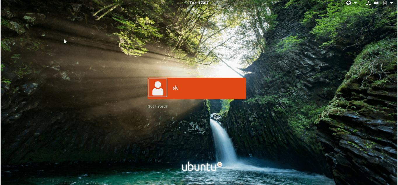 How To Change GDM Login Screen Background In Ubuntu - OSTechNix