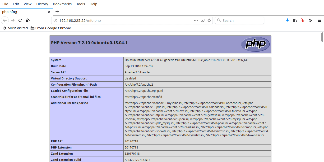 install pdo php extension ubuntu 18.04
