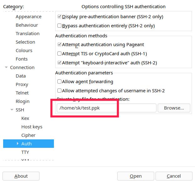 install puttygen ubuntu